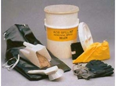 NS-630 acid spill kits are ideal for applications that have space constraints