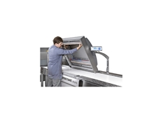 B 130 conveyor belted chamber vacuum packing machine