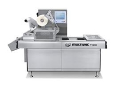 Multivac T300 automatic tray sealer