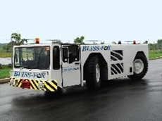 Bliss-Fox F1-300 aircraft pushback and extended towing tractor