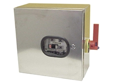 Enclosed visible load-break switches
