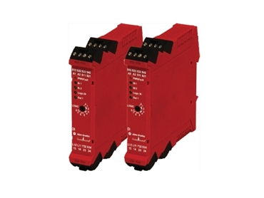 Guardmaster® allows for the safe connection of different devices to the same safety relay