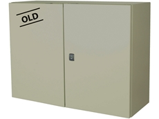 colour of the  industrial range of enclosures changing from RAL 7032 to light grey RAL 7035