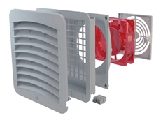 Kryos² filter fans have an IP54 protection rating