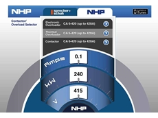 The NHP Contactor Select app enables simplified contactor and overload setting selection
