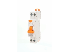 NHP MOD6 single pole compact residual current circuit breakers with overcurrent protection
