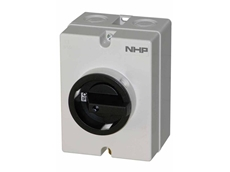 NHP non-polarised 1000 V DC rated isolator