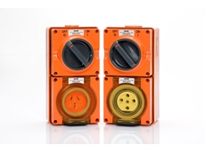 "ISO Plug and Socket range available in ""Resistant Orange"""