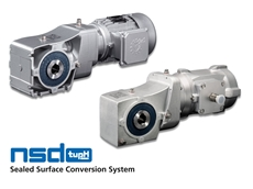 Lightweight Hygienic Helical Bevel Gear Units from NORD Drivesystems