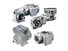 NORD's new gearboxes with specially treated casings (above), distributed inverters, and enhanced-efficiency motors (below)