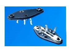Easy-to-install power transistor sockets