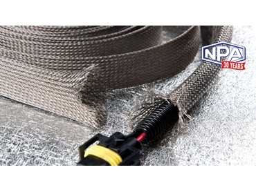 Copper Foil Sleeving is lighter and more flexible than tinned copper braided sleeving.