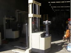 Used Crown walkie stackers