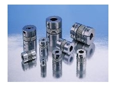 Ruland bellows couplings in different sizes.
