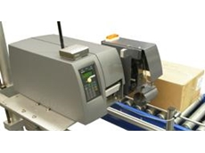 Jetstick barcode label applicator