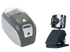 Photo ID card printing package