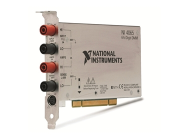 NI PCI 4065 DCI DMM suited for OEMs, educational labs and production tests