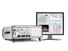 NI's new high-performance microwave vector signal analyser and fast switching continuous wave signal generator