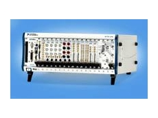 NI software configurable 18-slot PXI chassis.