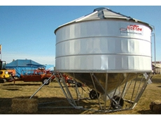 High quality storage capacity, Grain and Auger Field Bins from Nelson Silos