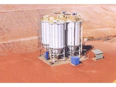 Nelson Silos' Birla Nifty Pneumatic cement transfer system