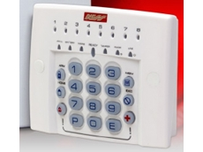 Backlit illuminated security keypad