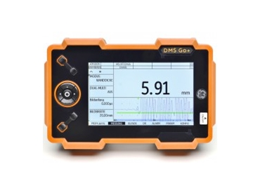 The DMS Go+ Series offers comprehensive, hand-held solutions to thickness measurement, data recording and data management.