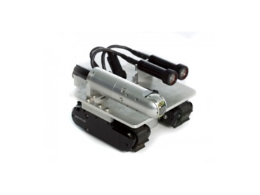 The VT100 MicroMag™ mobile robotic inspection vehicle is compact, waterproof and magnetic.