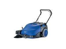 Floortec 350 compact walk-behind sweepers
