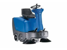 Nilfisk-Alto FLOORTEC R 360 ride-on sweepers with manual dump for large areas or narrow spaces