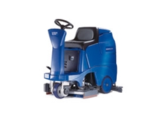 SCRUBTEC 366 battery driven ride on scrubber dryer