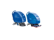 SCRUBTEC 553 medium size walk behind scrubber dryer