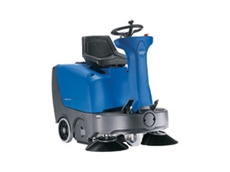 FLOORTEC R 360 ride on sweeper