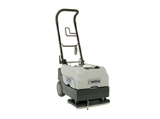 CA331 scrubber dryers are compact and easy to transport