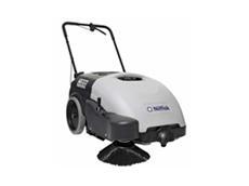 SW 750 walk behind sweepers can be used in a wide range of applications