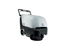 SW 850S B walk behind sweepers are ideal for medium sized sweeping jobs