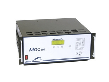 Multi-gas calibrator for ambient air gas analyzer calibration