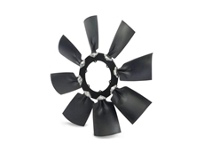WindShift industrial fans are available with a variety of blade configurations and rotation options