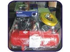 The air compressor and garage air tool pack