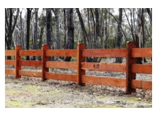Timber fencing alternative