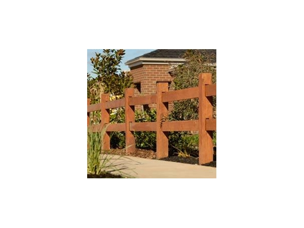 Timber Posts and Rails made from Australian Hardwoods From