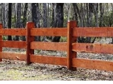 Choose the right posts and rails and you have yourself sturdy, durable fences