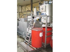 Distilling FlexoSol at Chespa with the ASC-150