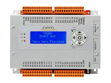 Flexible for expansion to suit your configuration PC1600 PLC