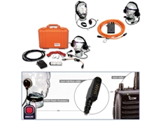 Emergency Rescue and Radio Communications Equipment for confined spaces