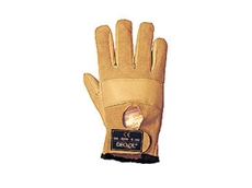 Full-finger Cow Hide anti vibration gloves available from OTB Products