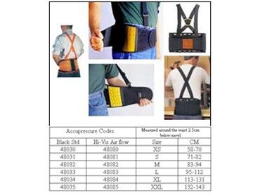 Professional Back Supports for high activity tasks in all industries