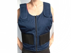 Patented cooling vests, cooling seat pads and head cooling pads