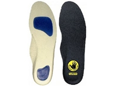 Reduce impact and shock with gel insoles