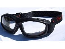 Slim Line Fire Fighter Safety Goggles